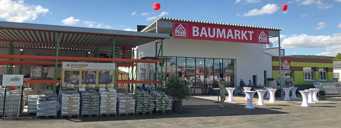 bauProfi Baumarkt Goellersdorf Eröffnung