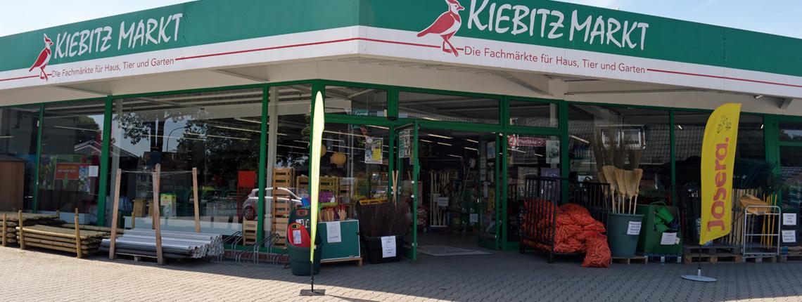 Kiebitzmarkt - Fachmärkte für Tier- und Garten